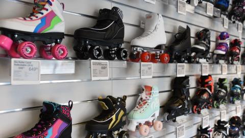 Elektroniske hyldeforkanter hos SkatePro
