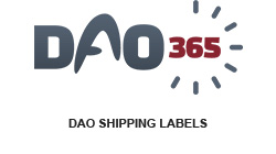 shipping labels for dao