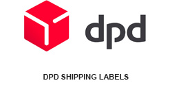 shipping labels for DPD