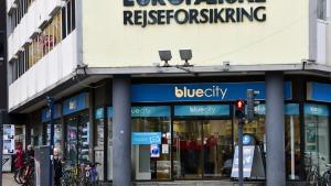 Blue City at Vesterbrogade in København