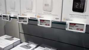 Cyberport Munich with electronic shelf labels