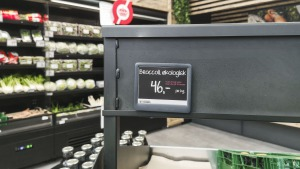 Electronic Shelf Label (ESL) at Plantorama