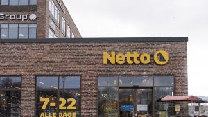 Netto butik ved det nye Stadion i Køge