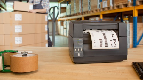 Label printer machine