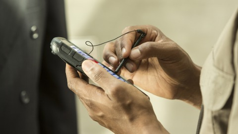 Mobile håndterminaler