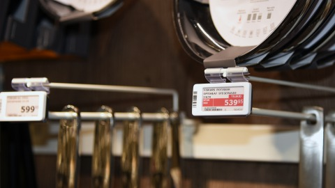 Imerco's new concept with electronic shelf labels