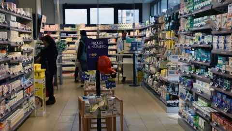 Pharmacy in Italy