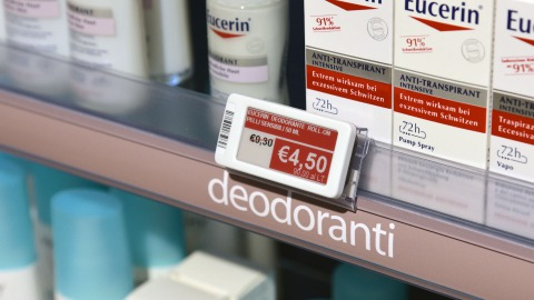 Electronic shelf labels for pharmacies