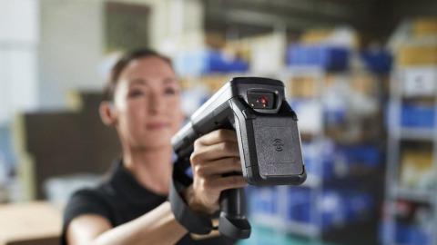 MC3300 RFID scan