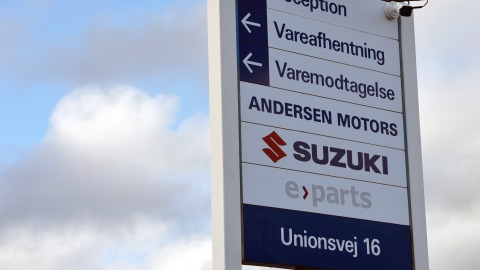 Andersen Motors - Suzuki Bilimport Danmark