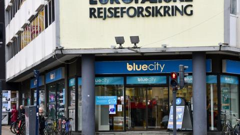 Blue City på Vesterbrogade i København