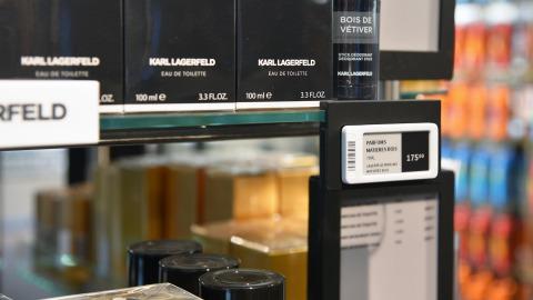 Boozt anvender elektroniske hyldeforkanter