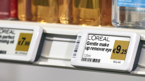 Digital shelf labels