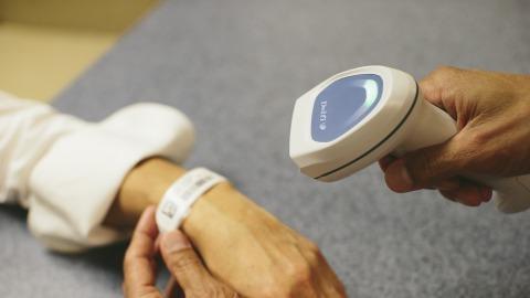 Delfi EasyScan digitaliserer patient-id