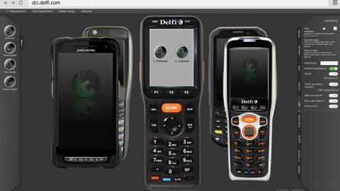Range of handheld terminals