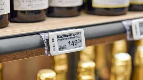 Electronic Shelf Labels at SPAR Klitmøller