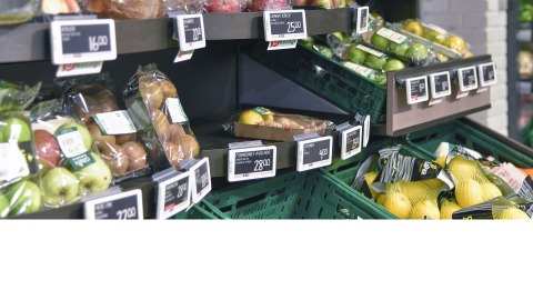 Fruit and vegetables at SPAR