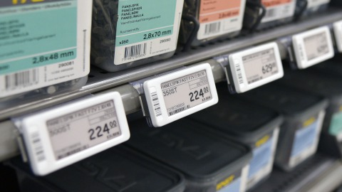 Electronic shelf labels for DIY retailers