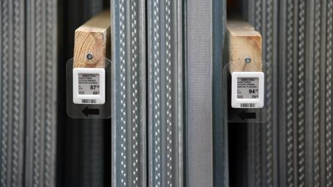 Electronic Shelf Labels at Johannes Fog