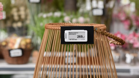 Electronic Shelf Labels at Plantorama