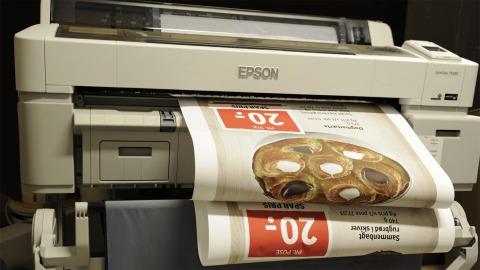 Storformat printer