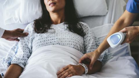 Stregkodescannere hjælper sundhedspersonalet på danske hospitaler