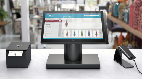 HP all-in-one POS
