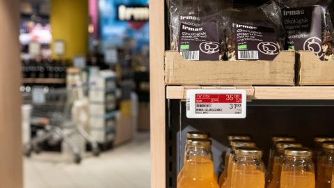 Irma electronic shelf label