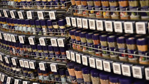 MENY Spices Electronic Shelf Labels