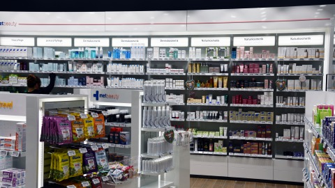 Metropolitan pharmacy in Munich Airport