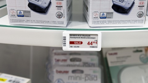 Electronic Shelf Labels at EuroCIS 2018