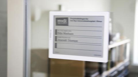 Office signage cases