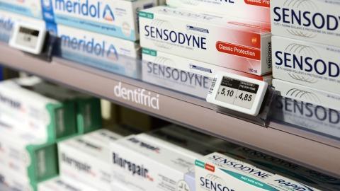 etichette elettroniche farmacia