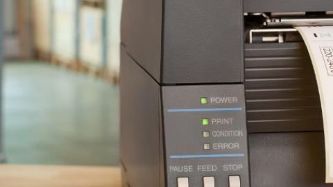 Label print software