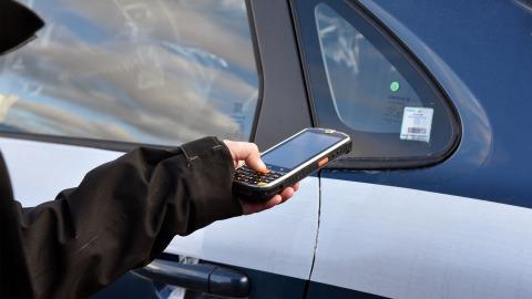 Stregkodeløsning til bil registrering