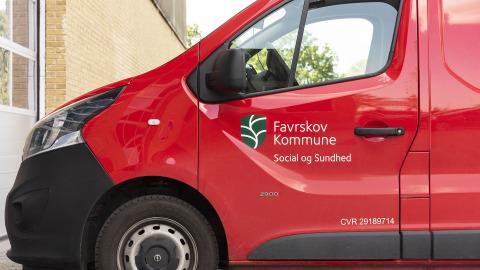 Favrskov Kommune car