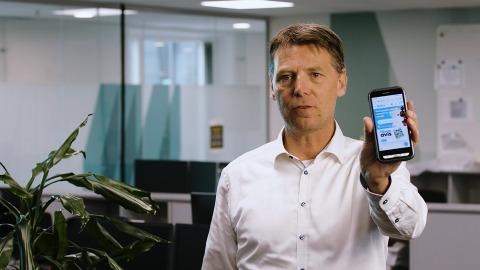 Ny smartphone fra Delfi Technologies er implementeret hos Salling Group