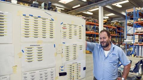 Warehouse Manager at Øens Murerfirma
