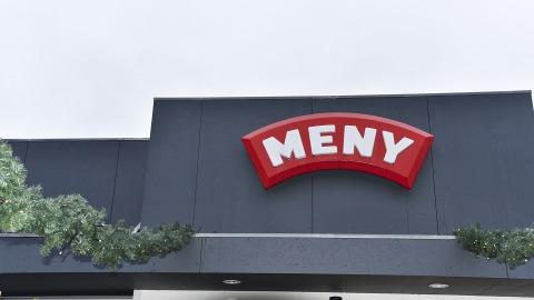 Facade på MENY Viby Sjælland