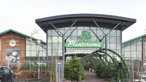 Front Outside of Plantorama Hillerød