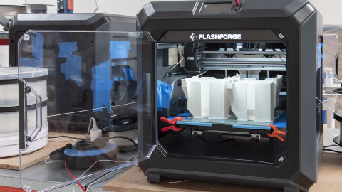 3D printer i gang med at printe